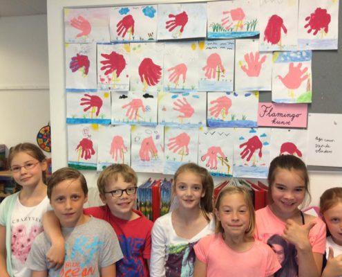 De Krullevaar - kunst in groep 5a
